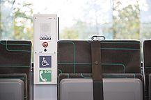 Mehrzweckabteil für Rollstuhlfahrer